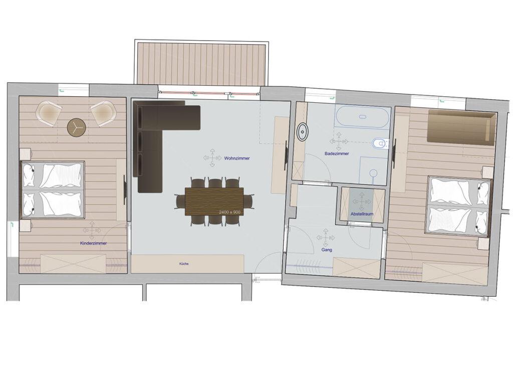 Schlern-Apartment-Grundriss